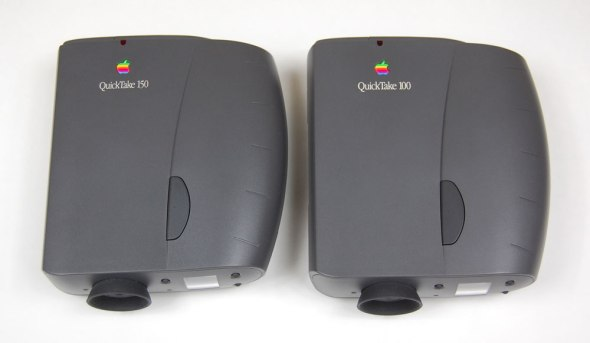The Quicktake 150 and 100 externally identical