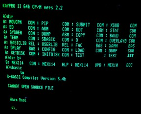 CP/M OS of choice for many in the eighties.