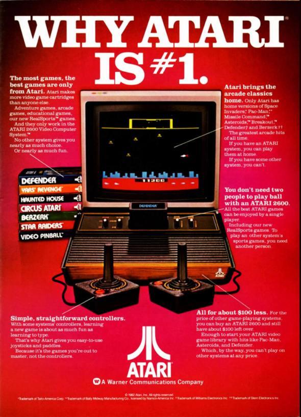 Atari Advert